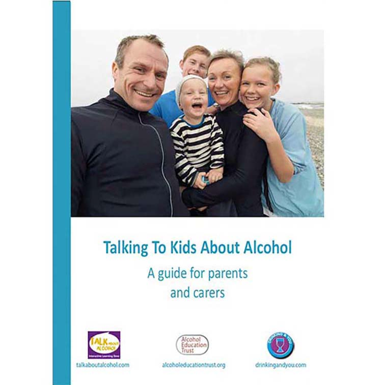 Talking to kids about alcohol guide