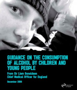 CMO Guidance on the consumption of alcohol by children and young people